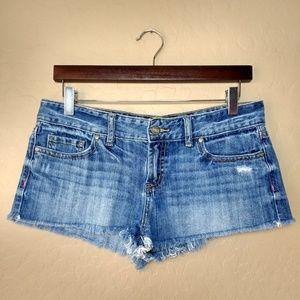 PINK Victoria's Secret Distressed Cut Off Shorts